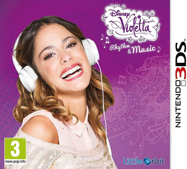 Violetta Rhythm and Music 3DS (käytetty)