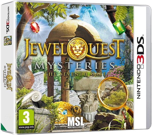 Jewel Quest Mysteries 3 The Seventh Gate 3DS (käytetty)