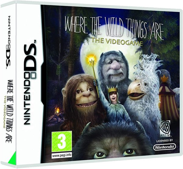 Where The Wild Things Are DS (käytetty)