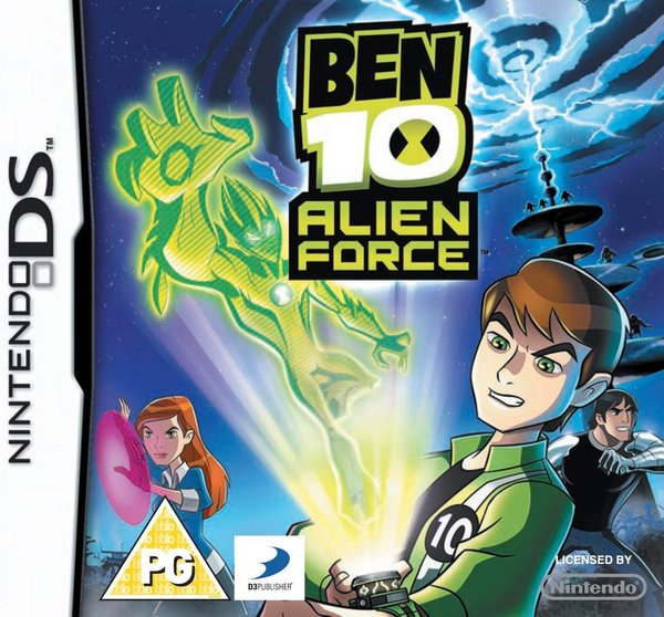 Ben 10 Alien Force DS (käytetty)