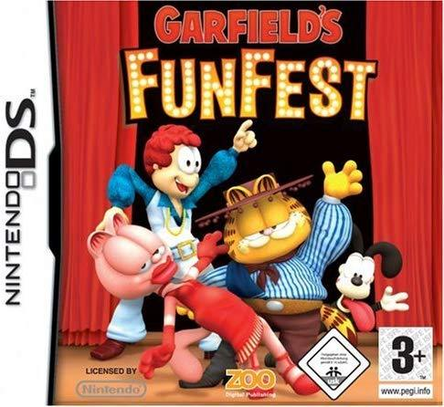 Garfield's Fun Fest DS (käytetty)