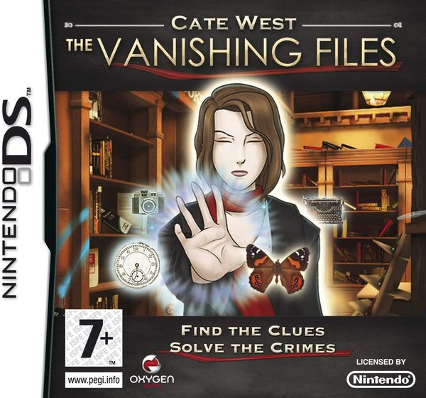 Cate West The Vanishing Files DS (käytetty)