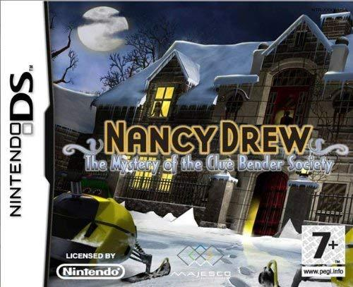 Nancy Drew Mystery of the Clue Bender Society DS (käytetty)