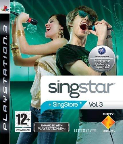 Singstar Vol 3 PS3 (käytetty)