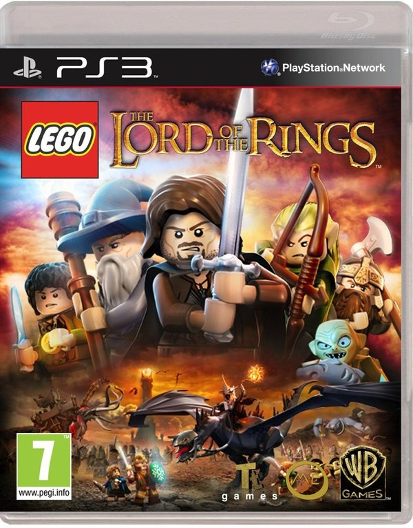LEGO Lord of the Rings PS3 (käytetty)
