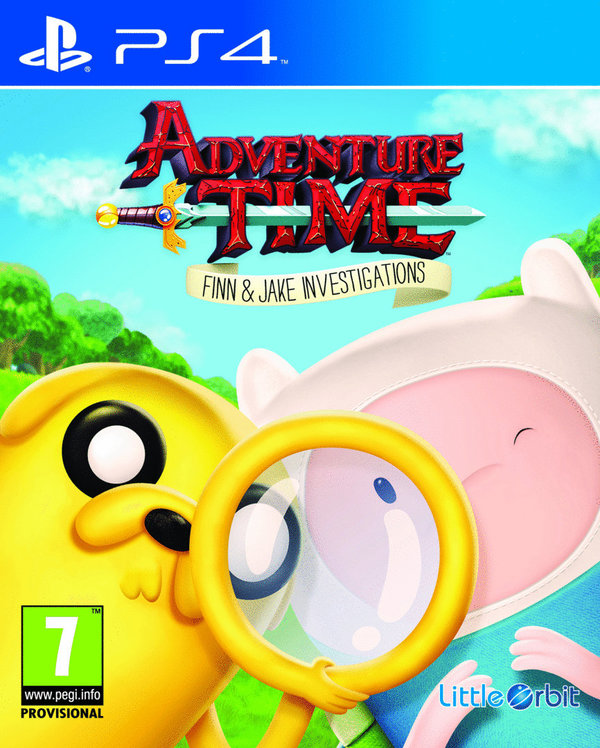 Adventure Time Finn and Jake Investigations PS4 (käytetty)