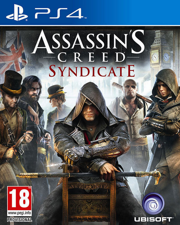 Assassin's Creed Syndicate PS4 (käytetty)