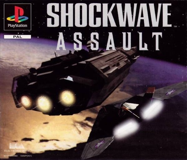 Shockwave Assault PS1 (käytetty) CiB