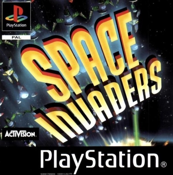 Space Invaders PS1 (käytetty) CiB