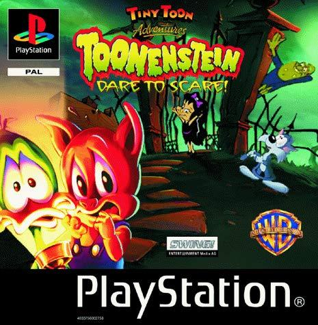 Tiny Toons Toonenstein Dare to Scare PS1 (käytetty) CiB