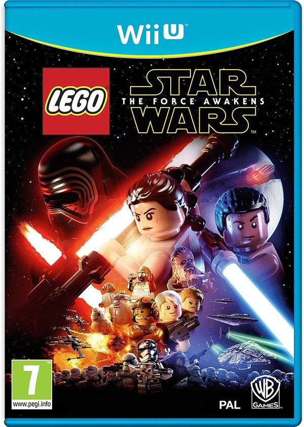 LEGO Star Wars The Force Awakens Wii U (käytetty)