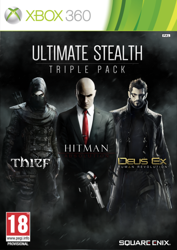 Ultimate Stealth Triple Pack Xbox 360 (käytetty)
