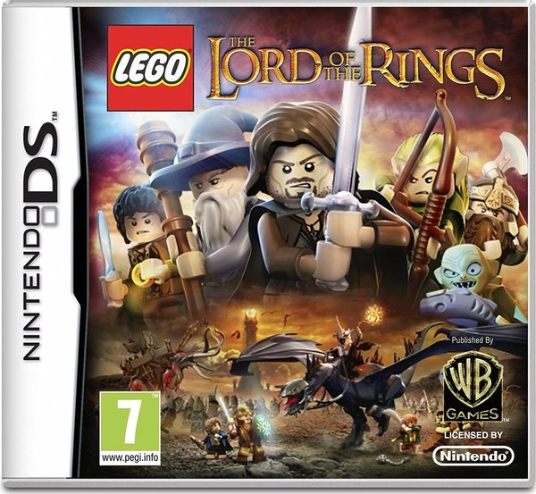 LEGO The Lord of the Rings DS (käytetty)