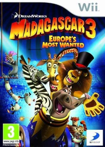 Madagascar 3 Europe's Most Wanted Wii