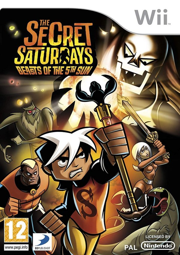 The Secret Saturdays Beasts of the 5th Sun Wii