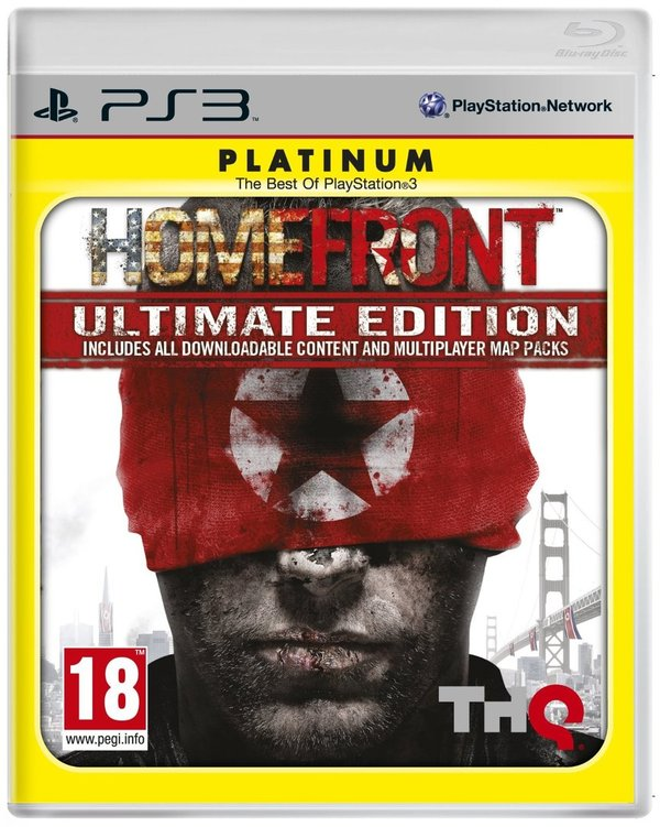 Homefront Ultimate Edition Platinum PS3