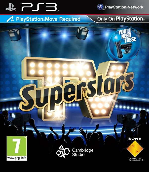 TV Superstars Move PS3