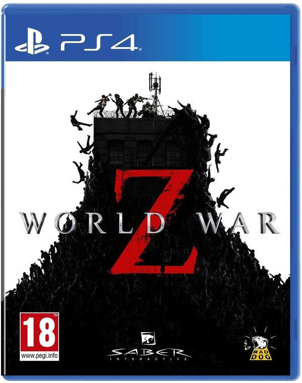 World War Z PS4 (käytetty)