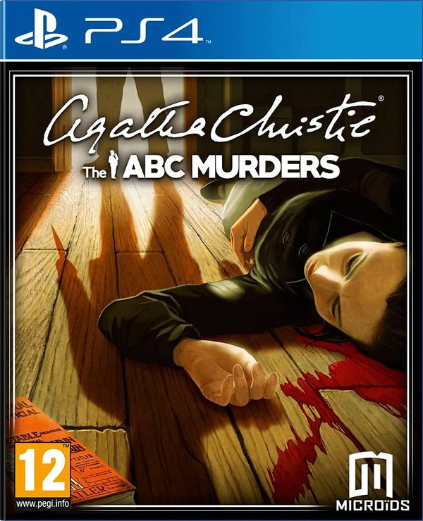 Agatha Christie The ABC Murders PS4 (käytetty)