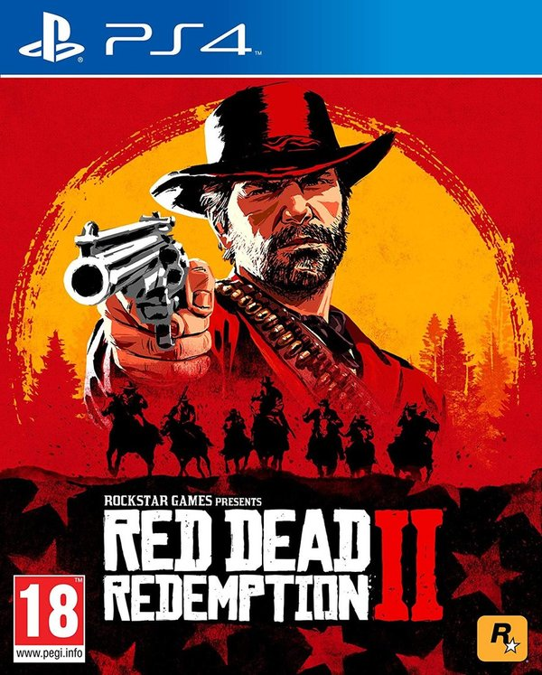 Red Dead Redemption 2 PS4 (käytetty)