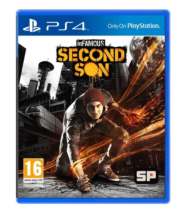 Infamous Second Son PS4 (käytetty)