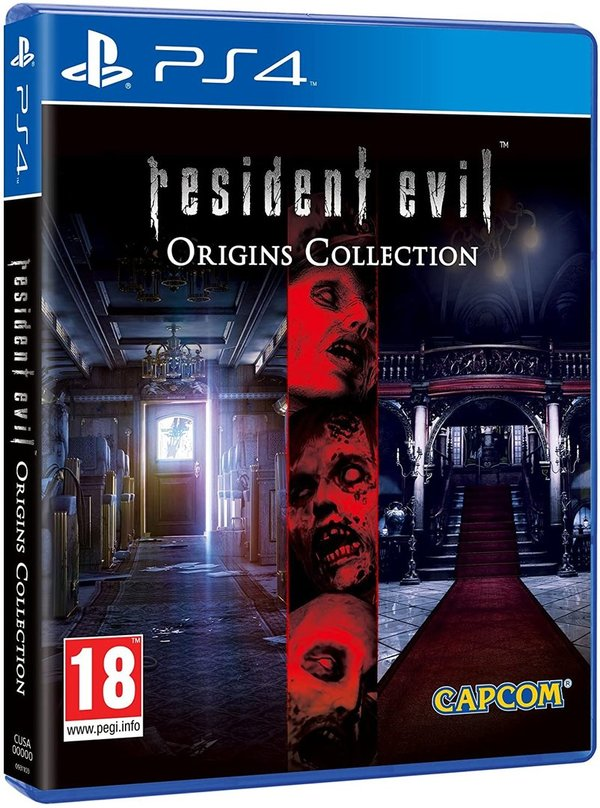 Resident Evil Origins Collection PS4 (käytetty)