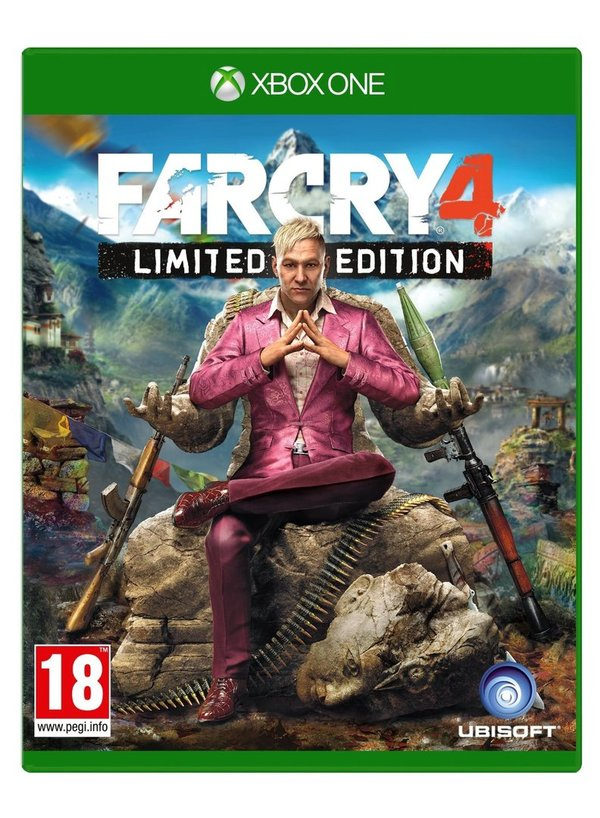 Far Cry 4 Xbox One (käytetty)