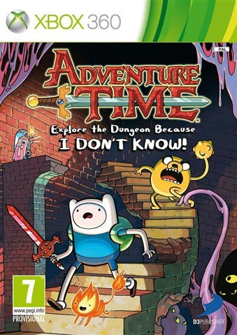 Adventure Time Explore the Dungeon Because I Don't Know Xbox 360 (käytetty)