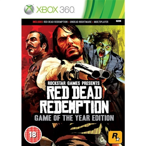 Red Dead Redemption Game of the Year Edition Xbox 360 (käytetty)