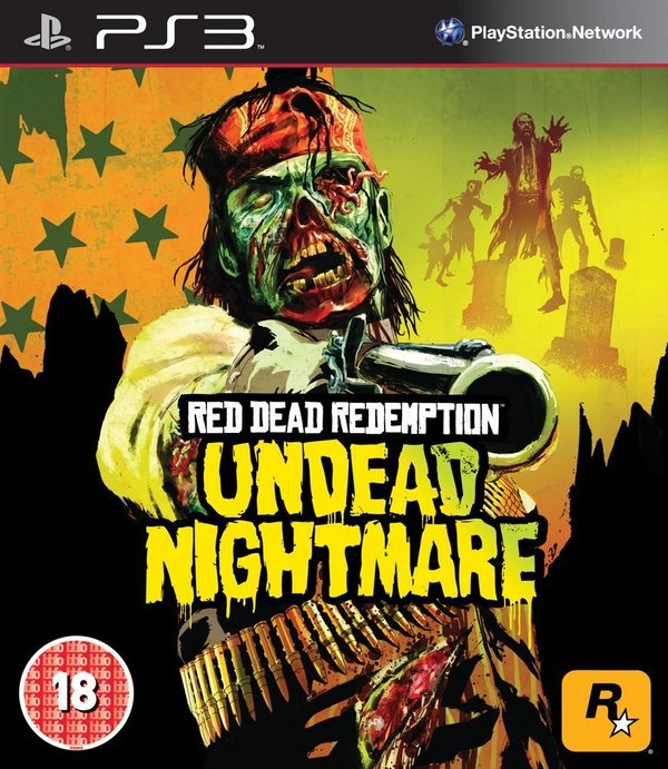 Red Dead Redemption Undead Nightmare PS3 (käytetty)