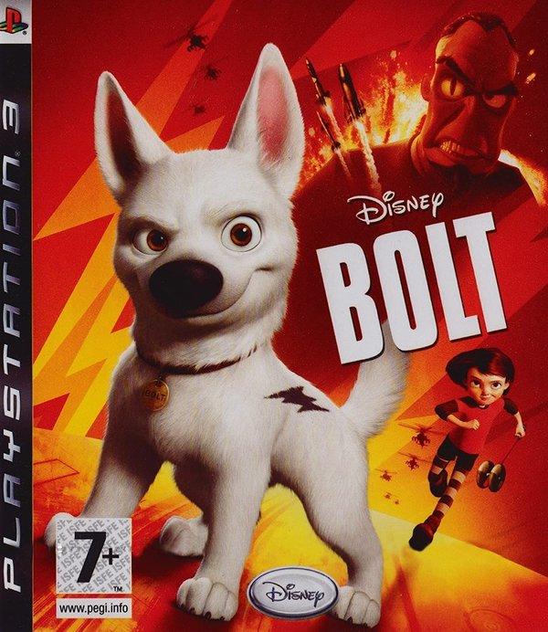 Disney Bolt PS3 (käytetty)
