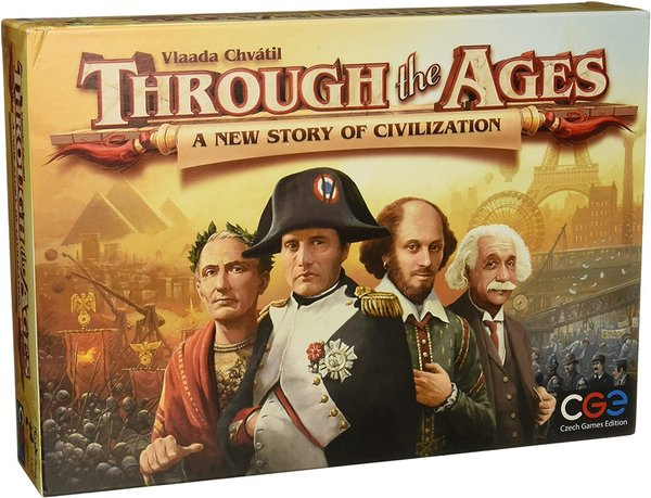 Through the Ages - A New Story of Civilization LAUTAPELI