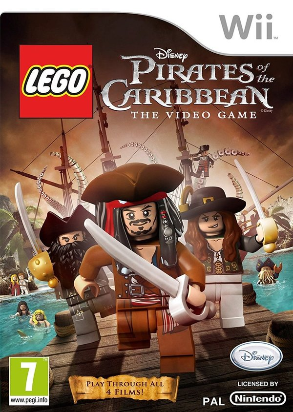 LEGO Pirates of the Caribbean Wii (käytetty)