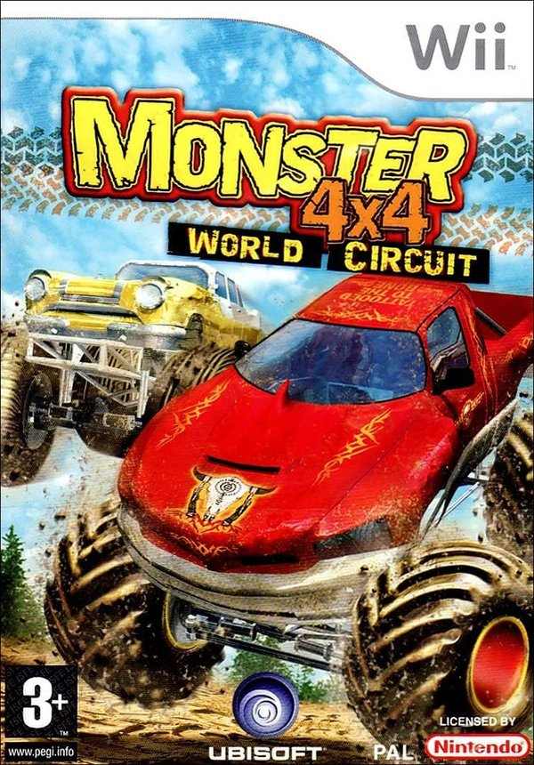 Monster 4X4 World Circuit Wii (käytetty)