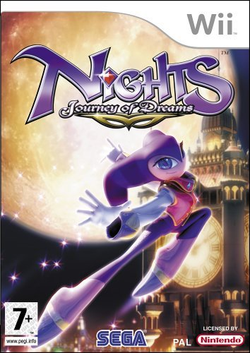 Nights Journey of Dreams Wii (käytetty)