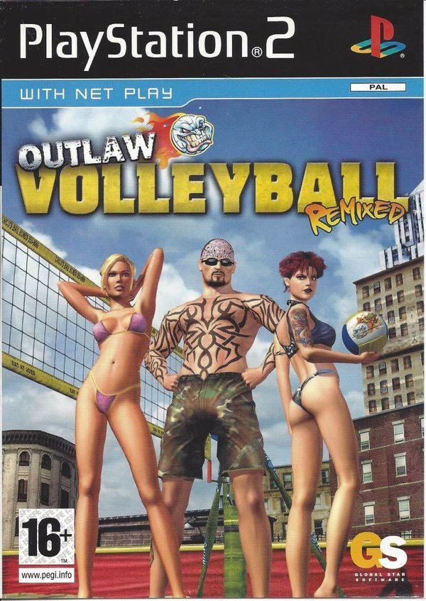 Outlaw Volleyball Remixed PS2 (käytetty) CiB