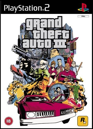 Grand Theft Auto III PS2 (käytetty) CiB