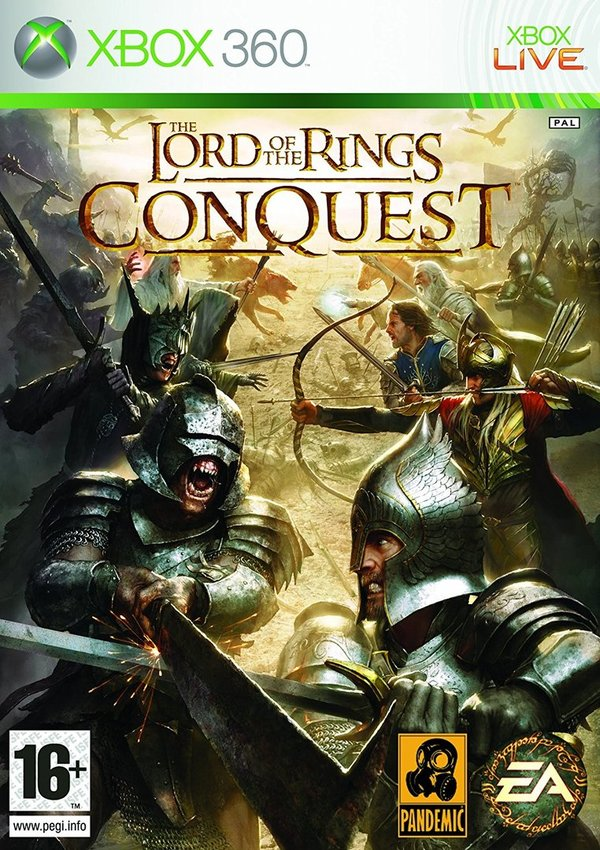 The Lord Of The Rings Conquest Xbox 360 (käytetty)