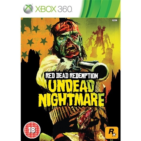 Red Dead Redemption Undead Nightmare Xbox 360 (käytetty)