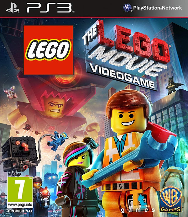 The LEGO Movie Videogame PS3 (käytetty)