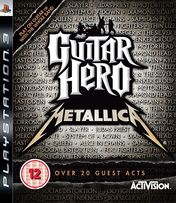 Guitar Hero Metallica PS3 (käytetty)