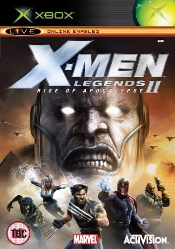 X-Men Legends II Rise of Apocalypse Xbox (käytetty) CiB