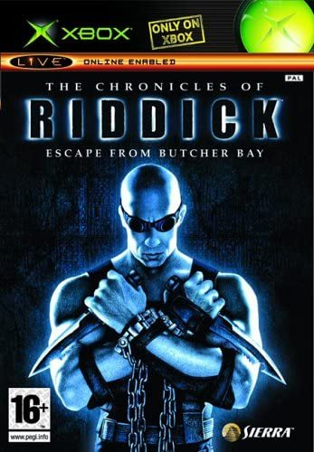 The Chronicles of Riddick Escape from Butcher Bay Xbox (käytetty) CiB