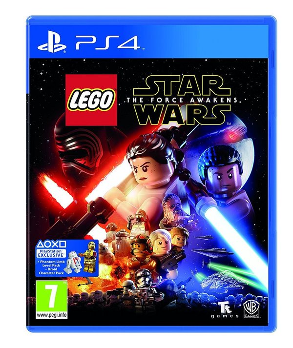 LEGO Star Wars The Force Awakens PS4 (käytetty)