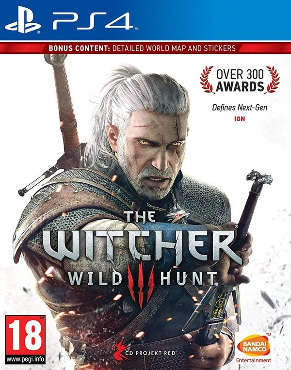 The Witcher 3 - Wild Hunt PS4 (käytetty)