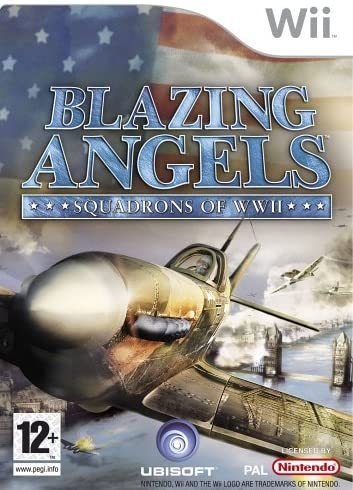 Blazing Angels Squadrons of WWII Wii (käytetty)