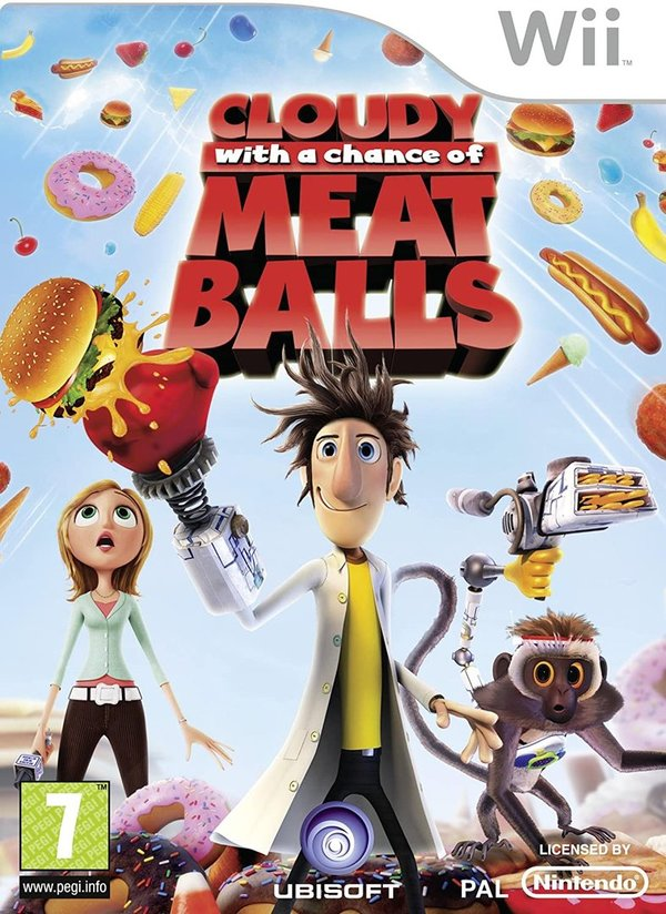 Cloudy With A Chance Of Meatballs Wii (käytetty)
