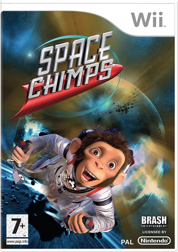 Space Chimps Wii (käytetty)