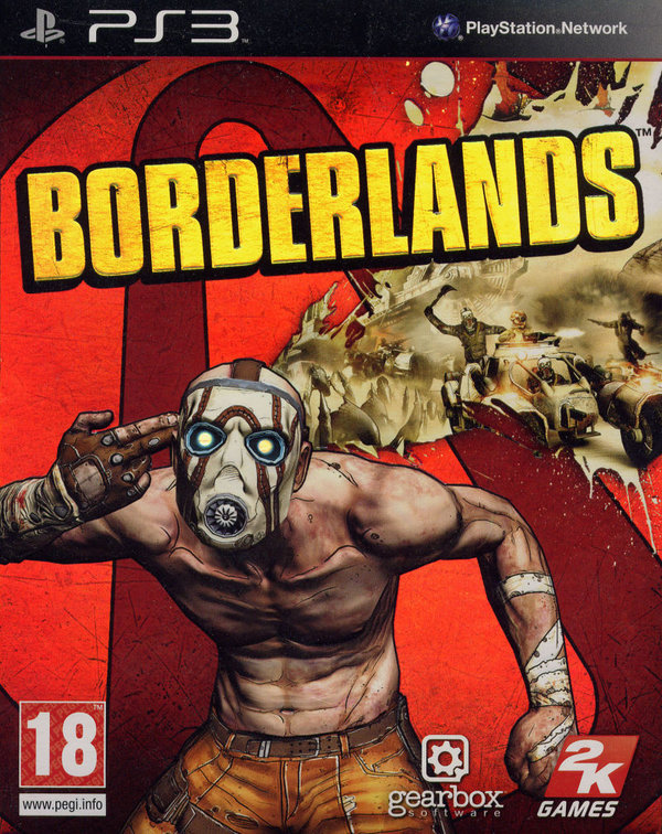 Borderlands PS3 (käytetty)