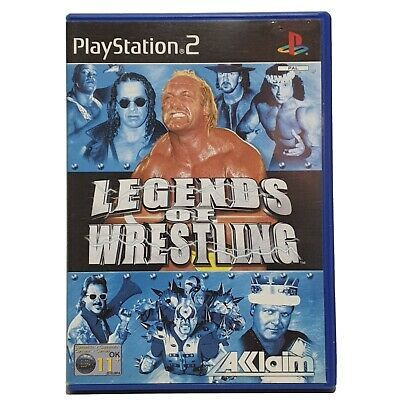 Legends of Wrestling PS2 (käytetty) CiB